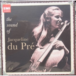 the Sound of Jacqueline du Pré. 4 CD. EMI