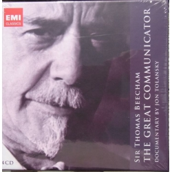 Sir Thomas Beecham: The Great Communicator. A Documentary By Jon Tolansky. 4 CD. EMI