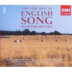 The Very Best of English songs with Orchestra. 3 CD. EMI