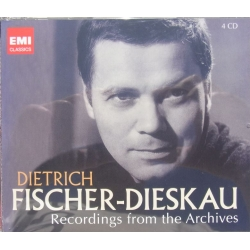 Dietrich Fischer Dieskau: Recordings from the Archives. 4 cd. EMI