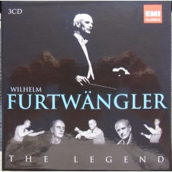 Wilhelm Furtwängler: The Legends, WPO. 3 CD. EMI