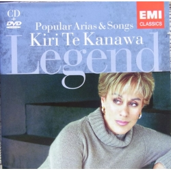 Popular Arias & Songs. Kiri te Kanawa. 1 cd. & 1 DVD. EMI