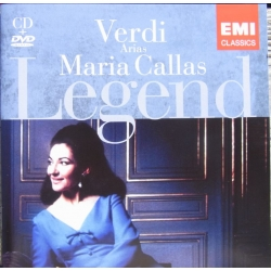 Maria Callas. The Legend. Verdi arias. 1 cd. & 1 DVD. EMI