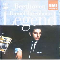 Beethoven: Pathetique, Måneskin, Appassionata. Daniel Barenboim. 1 CD & 1 DVD. EMI