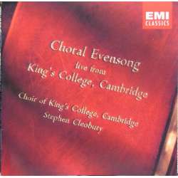 Choral Evensong. Live from King's College. Stephen Cleobury. 1 CD. EMI