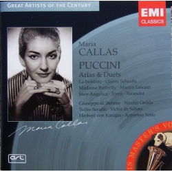 Puccini: Arias & Duets. Maria Callas. 1 CD. EMI. Great artist of the Century