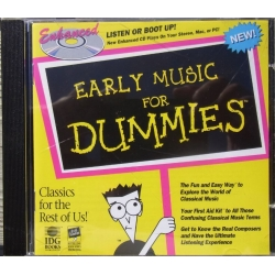 Early music for dummies. 1 cd. EMI