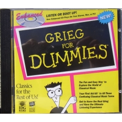 Grieg for dummies. 1 cd. EMI