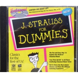 J. Strauss for Dummies. 1 cd. EMI