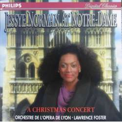 Jessey Norman at Notre-Dame. A Christmas Concert. 1 cd. Philips