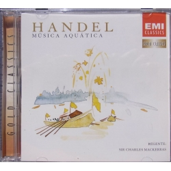 Handel: Water Music. Charles Mackerras, Prag PO. 1 CD. EMI