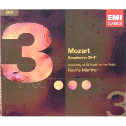 Mozart: Symfoni nr. 35-41. Neville Marriner. Academy of St. Martin in the Fields. 3 CD. EMI