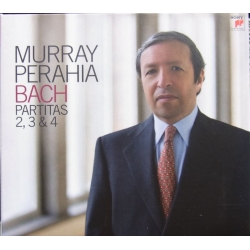 Bach: Partitas nr. 2, 3, 4. Murray Perahia. 1 CD. Sony