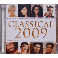 Classical 2009. Brightman, Pavarotti, Kennedy. Villazon. 2 CD. EMI