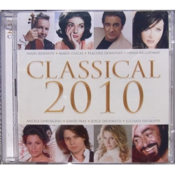 Classical 2010. Brightman, Pavarotti, Kennedy. Callas. 2 CD. Virgin