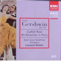 Gershwin: Catfish Row. An American in Paris. Slatkin. 1 CD. EMI. Red Line