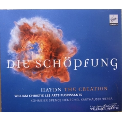 Haydn: Skabelsen. William Christie Les Arts Florissants. 2 CD. Virgin