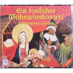 A Christmas Concert. 1 CD with Christmas concerts + 1 CD with Christmas cantatas, + 1 CD with the Christmas festival. 3 CD. Arte