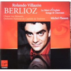 Berlioz: La Mort D'Orphee. Rolando Villazon, Michel Plasson. 1 CD. Virgin
