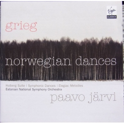 Grieg: Norske danse + Holberg Suite. Estonian SO. Paavo Jarvi. 1 CD. Virgin