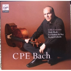 CPE. Bach: Cellokoncert nr. 1-3. Truels Mørk. 1 CD. Virgin