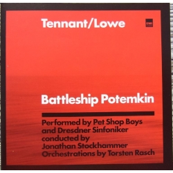 Battleship Potemkin. Pet Shop Boys, Dresdner SO. 1 cd. EMI