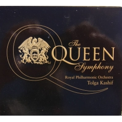 The Queen Symphony. Tolga Kashif, Royal PO. 1 CD. EMI