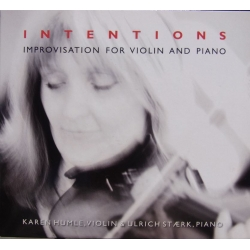 Intentions. Improvisation for violin and piano. Humle, Stærk. 1 CD. NCB