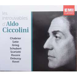 Les introuvables Aldo Ciccolini. 4 CD. EMI