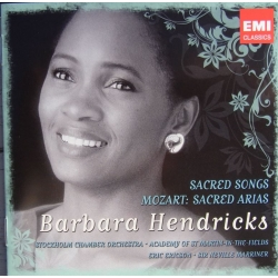 Barbara Hendricks: Sacred Songs & Mozart: Sacred Arias. 2 cd. EMI
