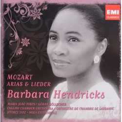 Barbara Hendricks. Mozart arias & lieder. 2 CD. EMI