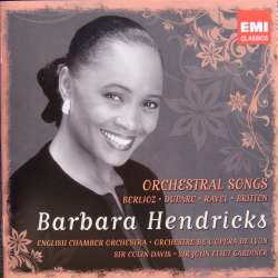 Barbara Hendricks: Orchestral Songs. Berlioz, Duparc, Ravel, Britten. 2 cd. EMI