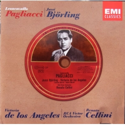 Leoncavallo: Pagliacci. Jussi Björling, de Los Angeles. Cellini. 1 cd. EMI