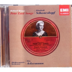 R. Strauss: Four last songs. Elisabeth Schwarzkopf. PO, Otto Ackermann. + Excerpts from Capriccio and Arabella. 1 CD. EMI.