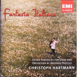 Fantasia Italiana. Opera fantasies for Obo og ork. Christoph Hartmann. 1 cd. EMI