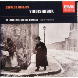 Golijov: Yiddishnnuk. St. Lawrence String Quartet. 1 cd. EMI