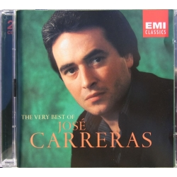 The Very Best of José Carreras. Arias by Verdi, Offenbach, Massenet, Gounod. 2 CD. EMI.