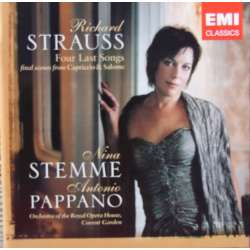 Richard Strauss: Four last songs. + Final scenes from Capriccio & Salome. Nina Stemme, Antonio Pappano. 1 CD. EMI
