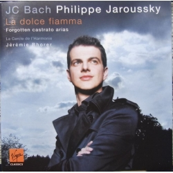 JC. Bach. Forgotten Castrato Arias. Philippe Jaroussky 1 cd. Virgin