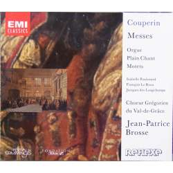 Couperin: Messes. Choir gregorien du Val de Grace. Brosse. 2 CD. EMI