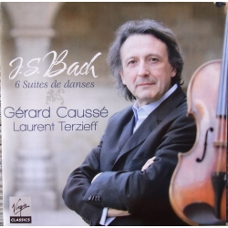 Bach: 6 suiter for solo bratch. Gerard Causse, Laurent Terzieff. 2 CD. Virgin