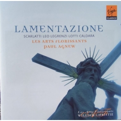 Lamentazione. Paul Agnew, les Arts Florissants. 1 CD. Virgin
