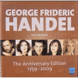 Handel: The Anniversary Edition. Arias & Duets. 2 cd. Virgin