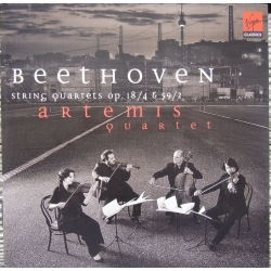 Beethoven: Strygekvartet Op. 18/4. & Op. 59/2. Artemis Quartet. 1 CD. Virgin