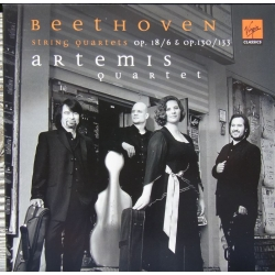 Beethoven: String Quartets Op. 18/6. Op. 130 & Op. 133. Artemis Quartet. 1 CD. Virgin.