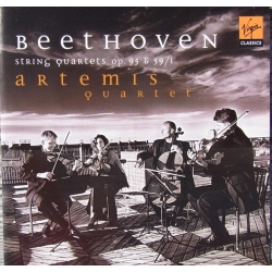 Beethoven: String Quartet Op. 95 & Op. 59/1. Artemis Quartet. 1 CD Virgin. New Copy