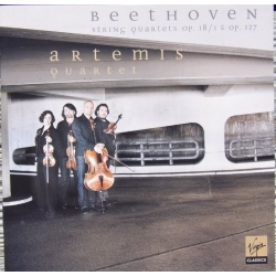 Beethoven: Strygekvartet Op. 18/1 & Op. 127. Artemis Quartet. 1 CD. Virgin