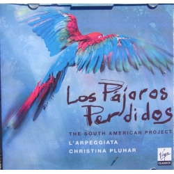 Los Pararos Perdidos. The South American Procject. Philippe Jaroussky. Christiana Pluhar. 1 CD. Virgin