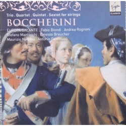 Boccherini: Trio, Quartet, Quintet, Sextet. Europa Galante. 1 CD. Virgin