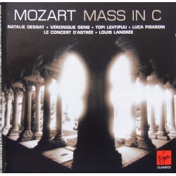 Mozart: Messe i C. Dessay, Gens, Le Concert D'Astree. Langree. 1 CD. Virgin